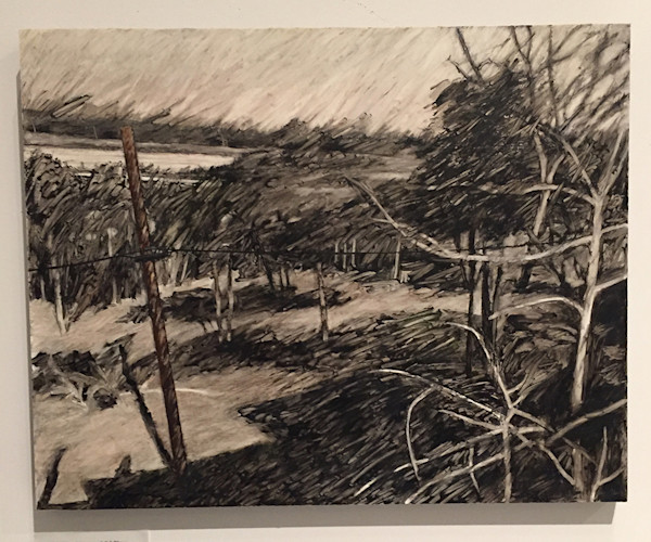 Walking Distance #5/River/Capital View by Jeanie Lockeby Hursley at Matt McLeod Fine Art Gallery.