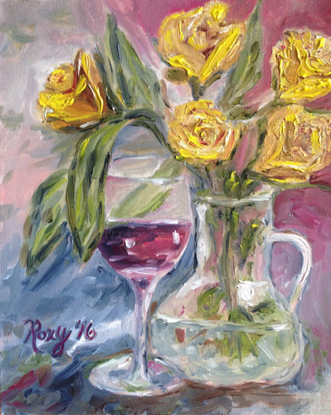 Wine and Roses - Original