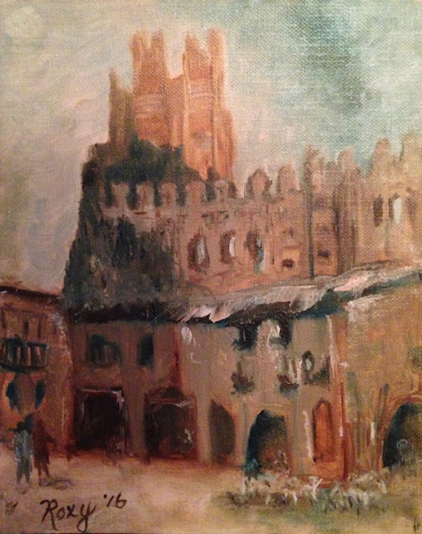 Roxy Rich Original Oil Paintings of Castles and Cityscapes and Fine Art Prints