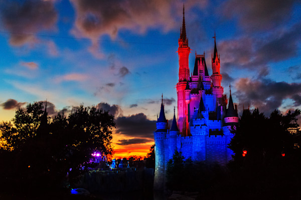 Disney Castle Photograph for Sale as Fine Art