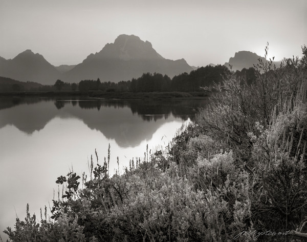Sunset on the OxBow, Grand Tetons NP