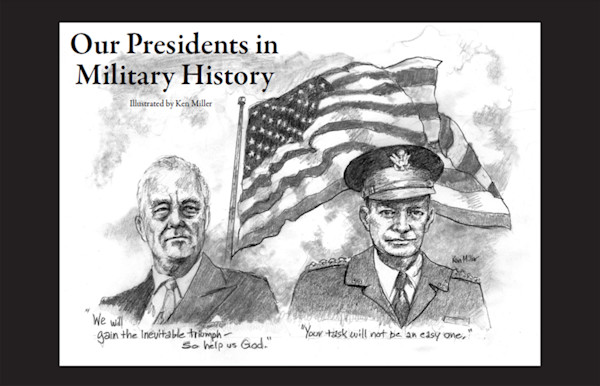 Our Presidents in Military History Calendar