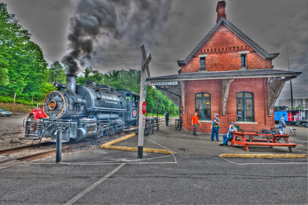 Railroad Museum of New England 16