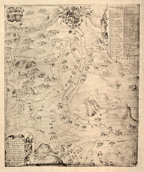 New Mexico Circa 1744