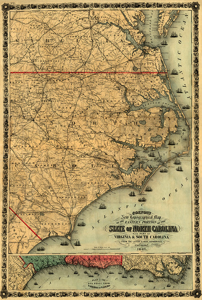 Eastern North Carolina 1861