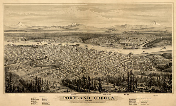 Portland Oregon 1879