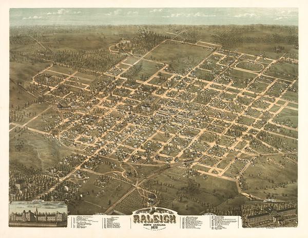 Raleigh, North Carolina, 1872