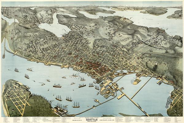Seattle, Washington 1891