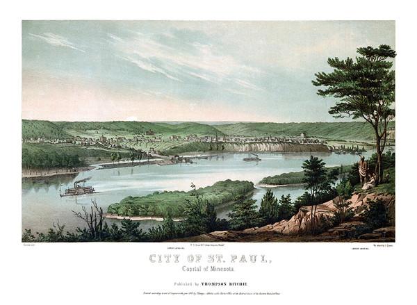 Saint Paul, Minnesota 1853