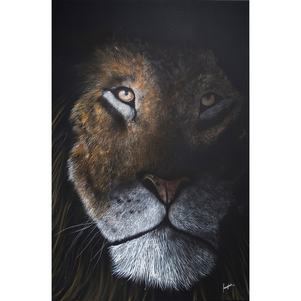 """Lion Eyes"" by Francigênio Castro 