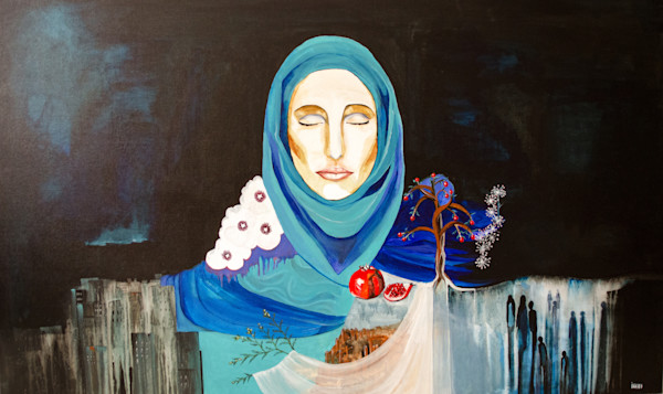 """Praying Woman"" by Ineke Hopgood 