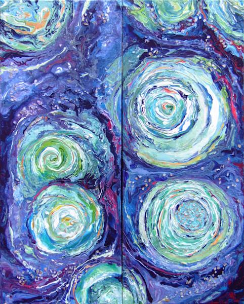 Abstract Texture Art/Ripples of Water/En Chuen Soo Fine Art