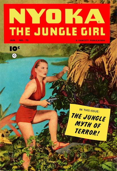 Nyoka The Jungle Girl Vintage Comic Fine Art Print
