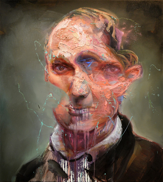 Portrait of Charles Baudelaire by Mathieu Laca. Prints available.
