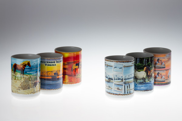 Fine Art Photographs of Chincoteague Mugs by Michael Pucciarelli