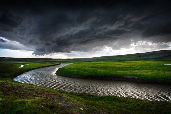Epic Storm over Hayden Valley