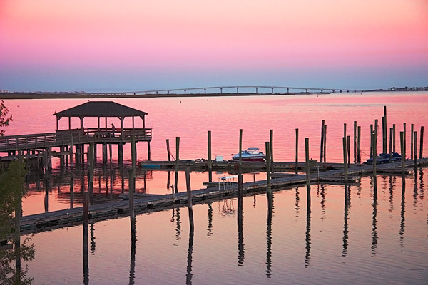 Somers Point, NJ Fishing Pier