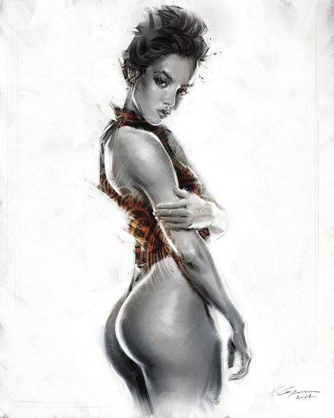 Vevaios - Fine Art by Vahe Grigorian Los Angeles Artist - Digital Prints available for Paper, Canvas, Metal and more. custom art, portrait orders, digital art, sexy,woman