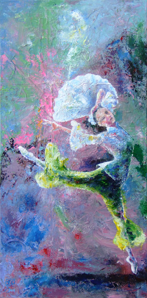Abstract Ballerina Art, Jasmine Dance