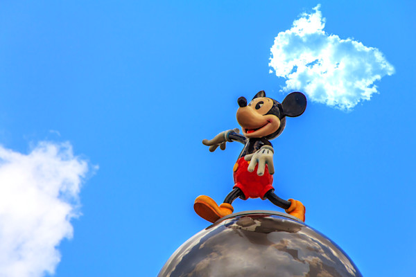 This World Belongs to Mickey Mouse Photograph for Sale as Fine Art