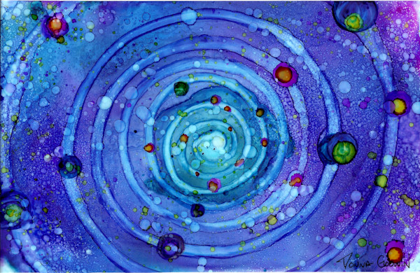 """Spiral Of The Earth"" by Donna Godwin 