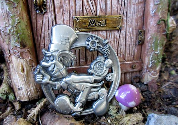 3D Mad Hatter LSD Blotter Art Hat Pin