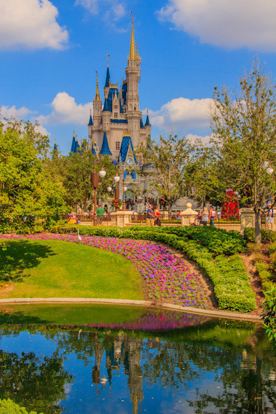 Cinderella's Castle Photograph for Sale as Fine Art