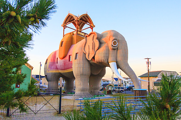 Elephant at the Shore- Lucy of Margate
