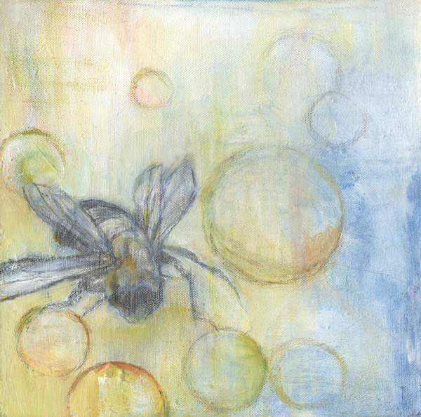 pollinate, life with wings, bee mika