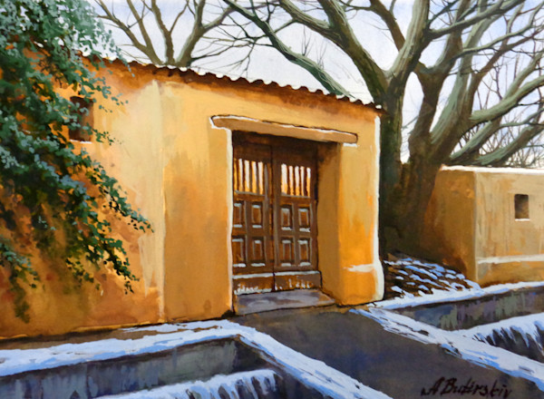 New Mexico Painting by Alexei Butirskiy | Santa Fe Charm