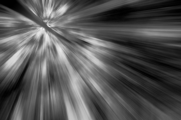 Radial Sun Rays Limited Edition Signed Abstract Photograph by Melissa Fague