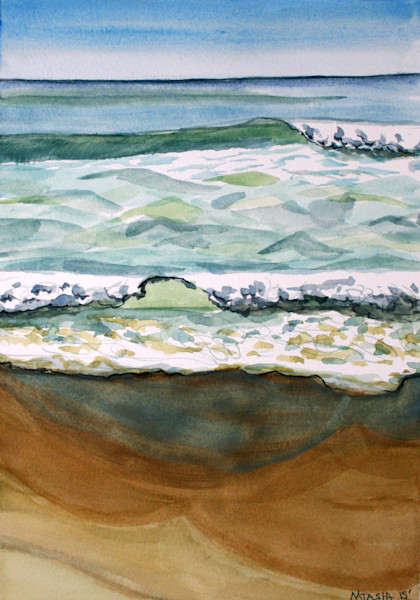 Outer Banks Wave art for Sale
