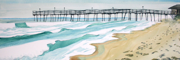 Outer Banks Pier Art for Sale