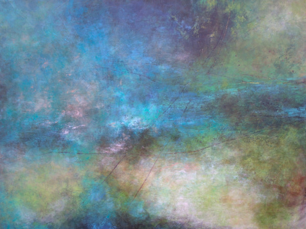 Rolling River - Abstract Canvas Wall Art - Canvas Art Sale