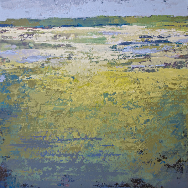 Chablis Shores - Abstract Landscape Paintings - Wall Art