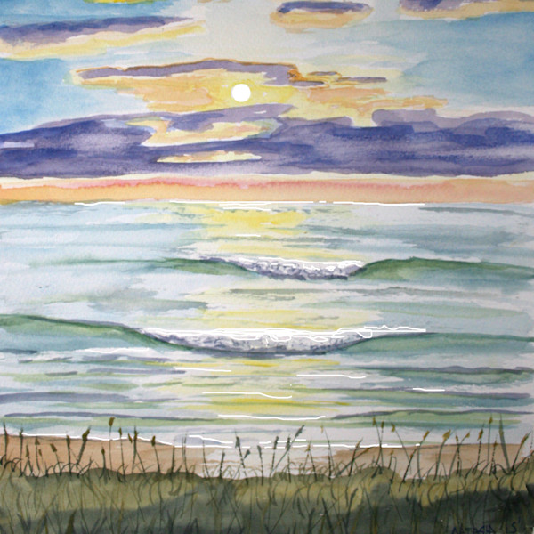 Outer Banks Sunset Art for Sale