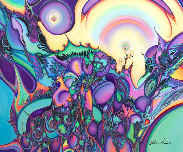 Mousepads | Purple Dawn