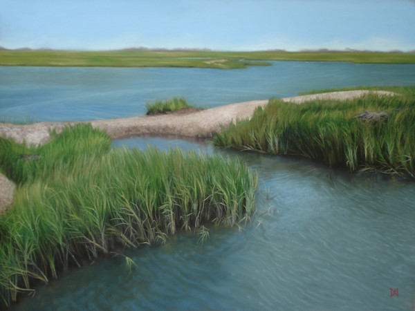 Blue Inlet Art for Sale