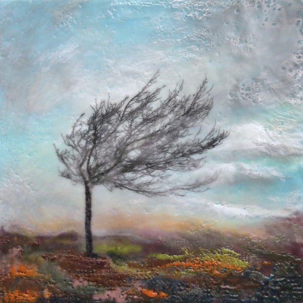 Mistral's Fury - Abstract Tree Paintings - Canvas Art Sale