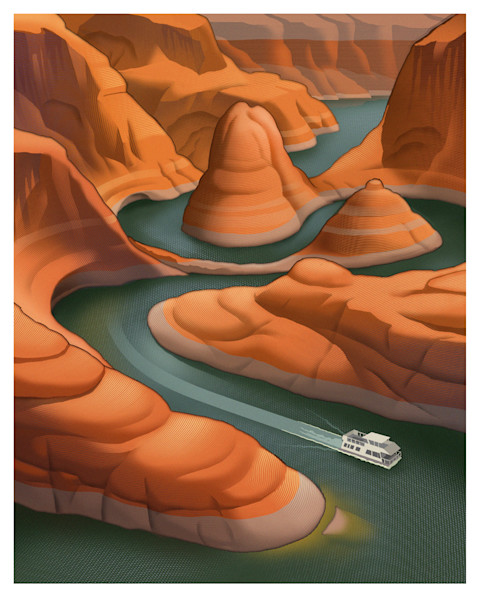Lake Powell by Chris Gall