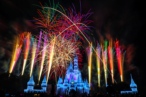 Disney Wishes Finale Photograph for Sale as Fine Art