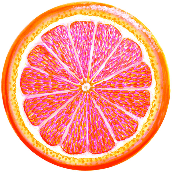 grapefruit inside B