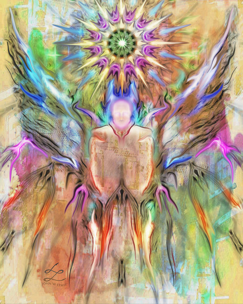 """Angel Of Light"" by John W. Lewis 