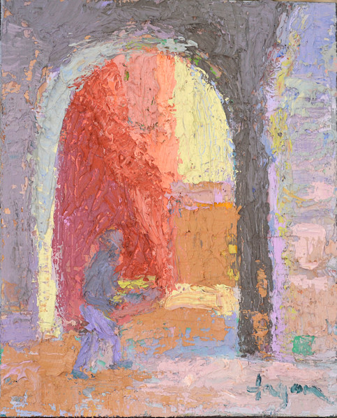 The Portal | Original Oil Painting by Dorothy Fagan
