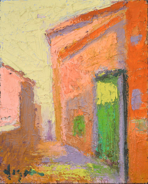Porta Verde| Original Oil Painting by Dorothy Fagan