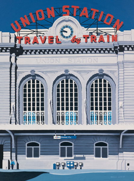 Denver's Union Station | Fine Art Print | Notecards
