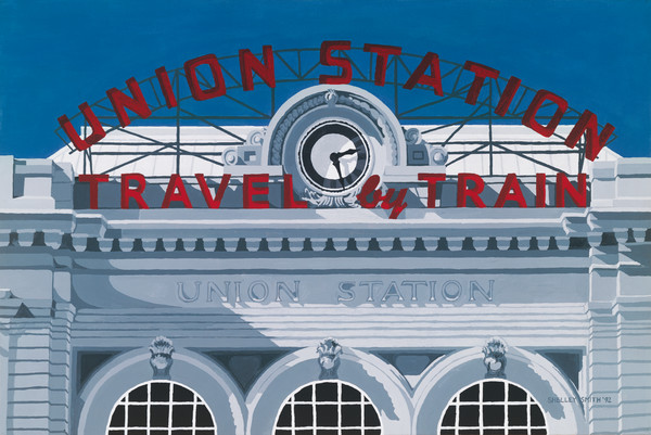 Union Station-Travel by Train | Fine Art Prints of Painting