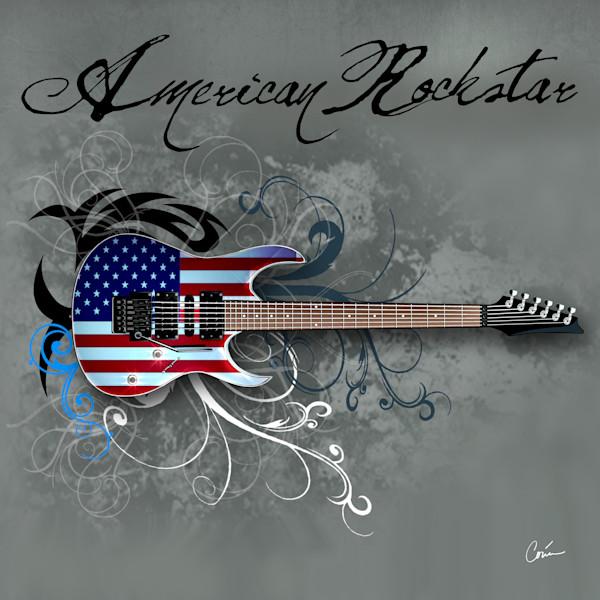 Corina Bakke / Corina Gallery Guitar Art Paintings and Rock and Roll