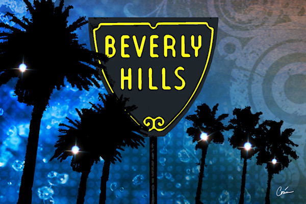 beverly hills, california sign, beverly hills sign, cool sign
