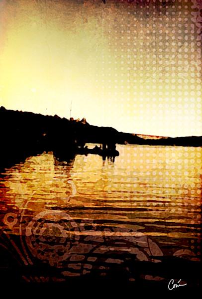 Lake Union Cityscape at sunset